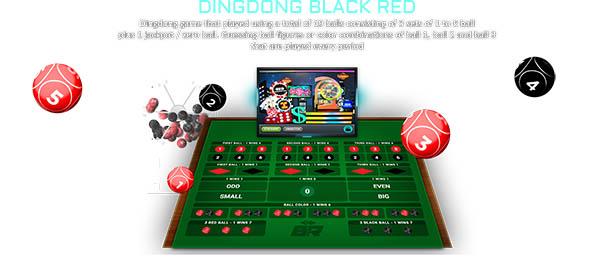 Dingdong Black Red